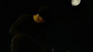 Murdock con una máscara negra