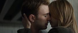 Steve luego de besar a Sharon
