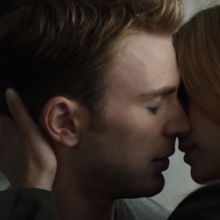 Steve luego de besar a Sharon.png