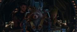 Thor, Rocket, & Groot (Farewell & Good Luck Morons).png