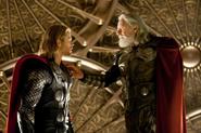 Thor desafía a Odín