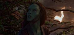 Gamora es salvada por Groot