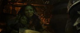 Gamora y su madre ocultos