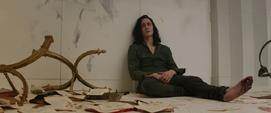 Loki frustrado por la muerte de Frigga