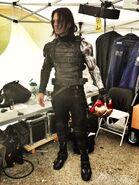 Winter Soldier behind the scenes 1