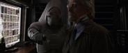 Ava Starr pidiendole a Henry Pym el laboratorio portatil - AAW