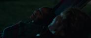 Rambeau riéndose con Danvers