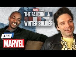Marvel Studio's The Falcon and The Winter Soldier - Anthony Mackie & Sebastian Stan - Ask Marvel