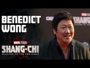 Benedict Wong on Leaving the Library - Marvel Studios' Shang-Chi Red Carpet LIVE