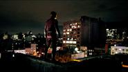 Murdock vigilando la ciudad