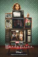 Wanda Maximoff Character Poster - WandaVision