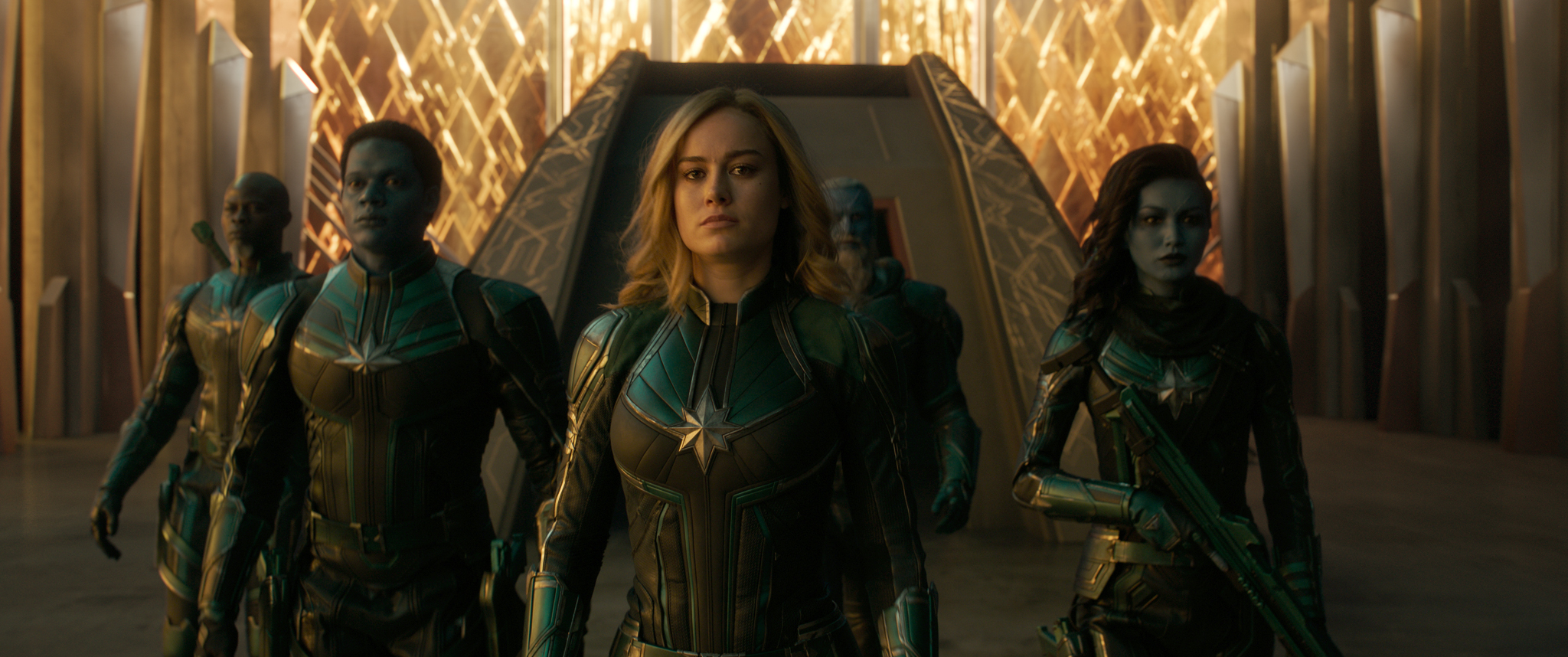Starforce Uniform Marvel Cinematic Universe Wiki Fandom Comic book lovers might have been surprised when carol danvers changes the color of her typically green, black, and silver kree suit in the final scenes of captain marvel. starforce uniform marvel cinematic universe wiki fandom