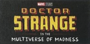 Doctor Strange 2 promotional logo