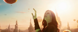 Gamora en el Planeta de Ego