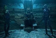 Gamora y Nebula reunidas con Ronan
