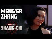 Meng'er Zhang's Marvel Muscles - Marvel Studios Shang-Chi Red Carpet LIVE