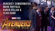 Ruffalo, Cumberbatch, Gillan and Gunn Live at the Avengers Infinity War Premiere