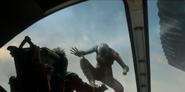 Nebula aterriza en una nave
