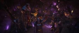 Thanos destruye la Estadista