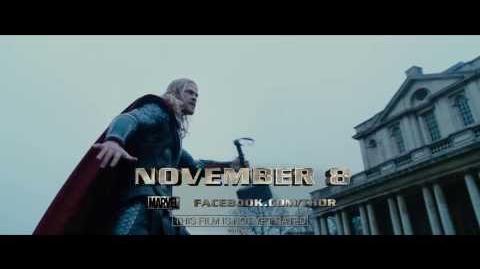 Marvel's Thor The Dark World - TV Spot 3