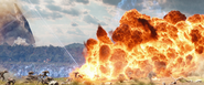Outrider Explosion