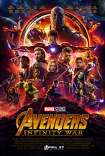 Avengers Infinity War - Póster oficial