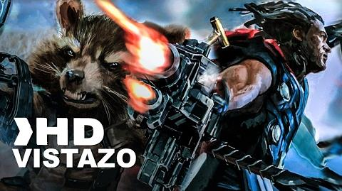 Avengers Infinity War Primer Vistazo Oficial Subtitulado Español HD