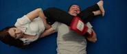 Romanoff en una pelea con Happy