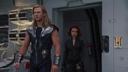 Thor & Black Widow