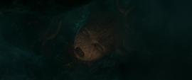 Groot es atrapado por Ego