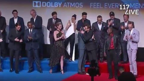 The Cast of Marvel's Captain America Civil War