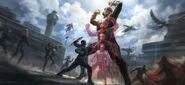 Captain America Civil War 2016 concept art 18