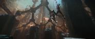 Gamora and Nebula jump
