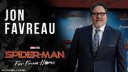 Jon Favreau on his role of a lifetime in Spider-Man Far From Home LIVE on the red carpet