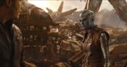 Nebula habla con Quill