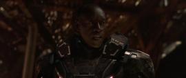 Rhodes piensa que Thanos les está mintiendo