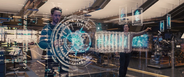 Stark y Banner creando a Ultron - AOU
