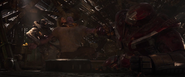 Thanos is attacked