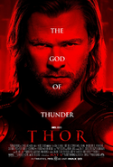 Thor red poster