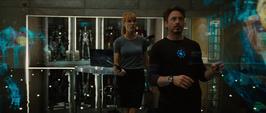Stark y Potts hablan de la colección de arte