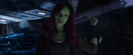 Gamora revela los planes de Thanos