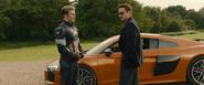 Stark y Rogers se despiden