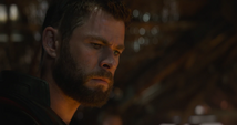 Thor molesto por no tener éxito en la misión principal