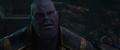 Thanos debatiendo con Gamora