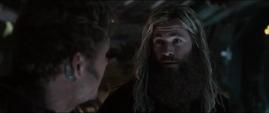Thor discute con Quill sobre el liderazgo de los Guardianes