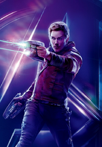 AIW - Póster sin texto de Star-Lord