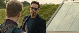 Stark se despide de Rogers