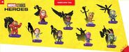 Marvel Studios Heroes Happy Meal Toys Promotion