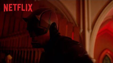 Marvel - Daredevil Temporada 3 La pelea en la iglesia HD Netflix