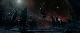 Ronan reúnion con Thanos